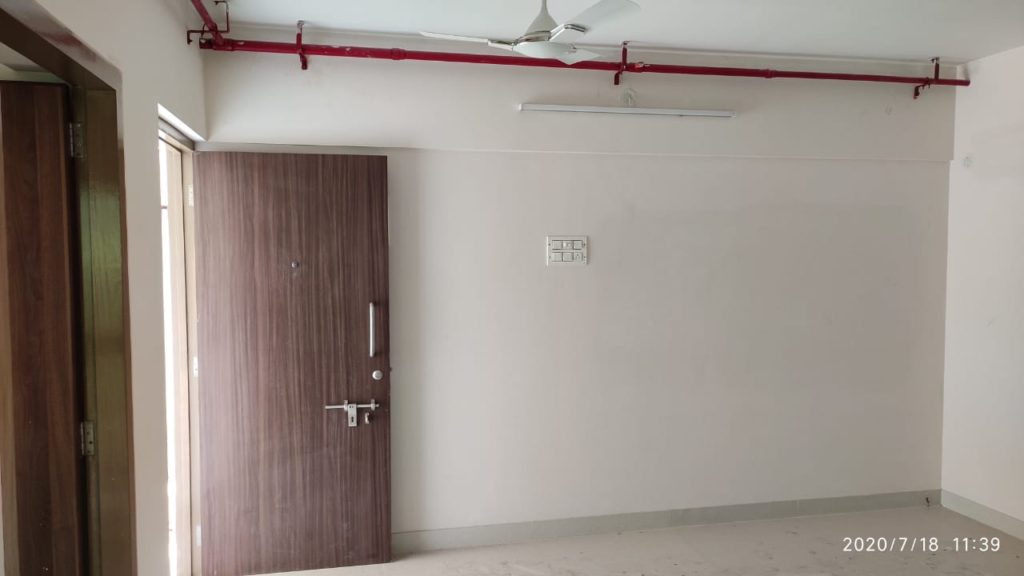 The Hall of the sample flat at Worli BDD