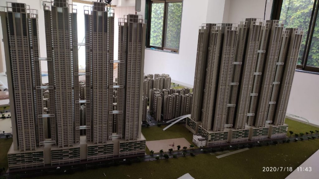 This is how the entire area of BDD Worli will appear once redeveloped.