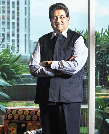 Businessman Harshavardhan Neotia of AmbujaNeotia